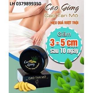 CAO GỪNG TAN MỠ - CAO TAN MỠ - CAO GỪNG TAN MỠ thumbnail