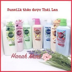 Dầu Gội Sunsilk Thảo Dược nội địa Thái Lan 450ml đủ loại - Sunsilk Thảo Dược