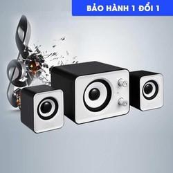 Loa Vi Tính USB 2.0 Âm Bass Chuẩn Nghe Nhạc Để Phòng Siêu Sang