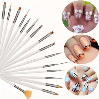 Bộ 15 cây cọ cây vẽ móng nghệ thuật, vẽ trang trí móng tay, làm nail chuyên nghiệp - K0229 thumbnail