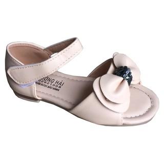 Giày sandal bé gái  Trường Hải màu kem BG011 [ CÓ VIDEO]