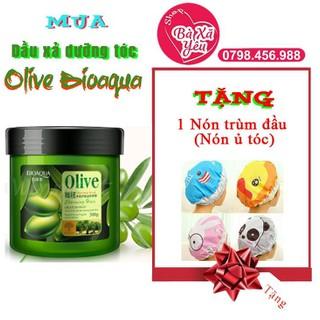 Dầu xả Olive Bioaqua 500g - B0300 thumbnail