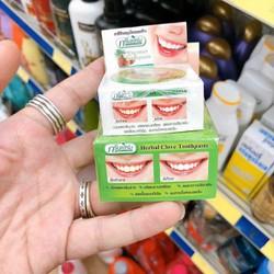 Kem tẩy trắng răng HERBAL CLOVE TOOTHPASTE Thái Lan