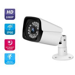 Bộ Camera giám sát 4 Mắt FHD 1080P - 2MP - Đầy đủ phụ Kiện [ĐƯỢC KIỂM HÀNG]