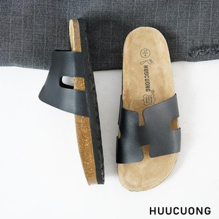 Dép chữ H đen HuuCuong - 2214 thumbnail