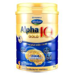 Sữa Bột Dielac Alpha Gold IQ Step 2 Hộp Thiếc 900g (Dành Cho Bé Từ 6 Đến 12 Tháng Tuổi)