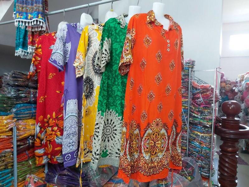 Váy Nữ Trung Niên Có Tay Vải Lanh Sang Trọng - váy trung niên 10