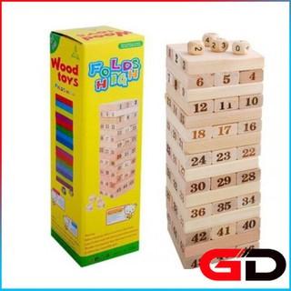 đồ chơi rút gỗ số - đồ chơi rút gỗ số thumbnail
