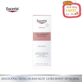 Kem dưỡng trắng da ban ngày Eucerin UltraWHITE+ SPOTLESS Day SPF30 50ml - 0150