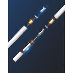 Bút Cảm Ứng Điện Dung 2in1 Cao Cấp Cho Điện Thoại Máy Tính Bảng- Tặng Kèm Đầu Bút Cảm Ứng