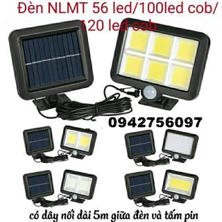 Đèn năng lượng mặt trời 56LED 100 led cob 120 led cob siêu sáng có dây dài 5m - led 55 100 120 thumbnail