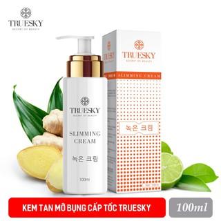 Kem tan mỡ bụng quế gừng Truesky chính hãng giảm vòng eo cấp tốc 100ml - Slimming Cream - Slimming thumbnail