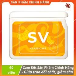 [ CHÍNH HÃNG ] - Project V - SV (Sveltform) vision - Điều hòa trao đổi chất, Đốt mỡ, giảm cân - Hộp 60v