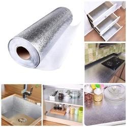 FREE SHIP- Cuộn giấy bạc dán bếp cách nhiệt chống Bám Bẩn Đa Năng bền đẹp kích thước 3MX60