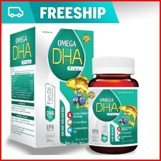 Viên dầu cá O.me.ga DHA Nhập Khẩu Đan Mạch- thành phần omega3 450mg, Dha 180mg, Giúp bổ não, sáng mắt, khỏe tim mạch - Hộp 60 viên O.me.ga 1000mg, EPA 270mg, DHA 180m - O.me.ga DHA thumbnail