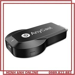 HDMI Không Dây Kết Nối Điện Thoại Với Tivi Tốc Độ Cao 2.4G/5G Từ Mobile, Tablet, Laptop ra Tivi Hình Ảnh Siêu Nét 4K Anycast M100 Plus