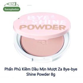 Phấn Phủ Kiềm Dầu Mịn Mượt Za Bye-bye Shine Powder 8g - 0198