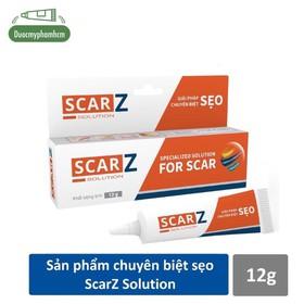 Gel trị sẹo chuyên biệt ScarZ Solution 12gr giúp làm phẳng, mờ sẹo và đều màu da - 0325