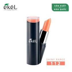 Son màu cam bayby - Ekel Professional Ample Essence Lip (112 - Shiny Orange)