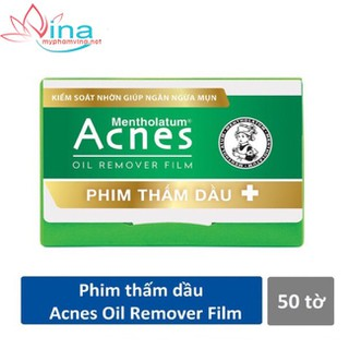 PHIM THẤM DẦU ACNES OIL REMOVER FILM (50 TỜ GÓI) - ACNES OIL REMOVER FILM (50 TỜ GÓI) thumbnail