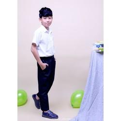 Quần tây học sinh nam - vải tốt - form đẹp, quần đi học cho bé cấp 2 TDP001- Jadiny