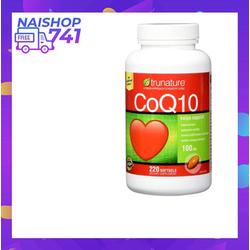 Viên uống hỗ trợ tim mạch Trunature CoQ10 của Mỹ 220 viên