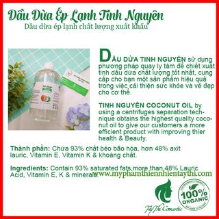 Dầu Dừa Ép Lạnh Tinh Nguyên Chai 30ml - 432423 2