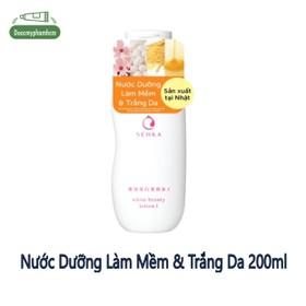 Nước dưỡng làm mềm và trắng da Senka White Beauty Lotion I 200ml - 0343