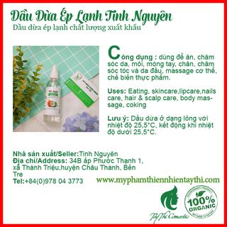Dầu Dừa Ép Lạnh Tinh Nguyên Chai 30ml - 432423 3