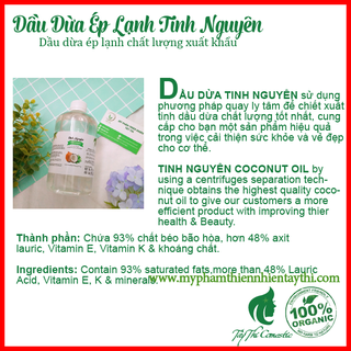 Dầu Dừa Ép Lạnh Tinh Nguyên Chai 50ml - 64336 2