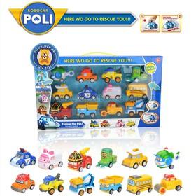 Bộ đồ chơi 12 xe ô tô mô hình chạy trớn bằng nhựa cho bé - P7 - Đồ khuyến mãi từ sữa giá tốt - xe-P7