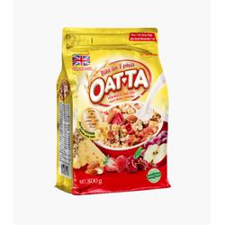 Yến mạch Oatta trái cây hạnh nhân phô mai gói 800g (không kèm sữa)
