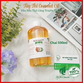 Dầu Dừa Nấu Thủ Công Tây Thi Chai 500ml - 0000015 thumbnail