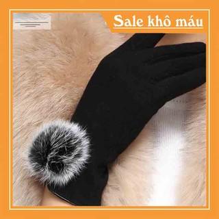 Găng tay nữ da - Găng tay cảm ứng - Găng tay nữ đẹp - BTN -1 thumbnail
