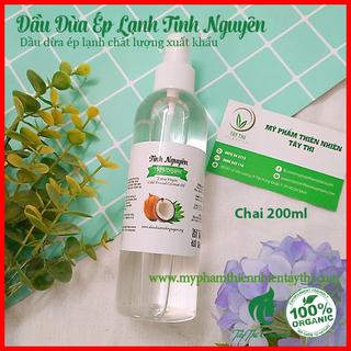 Dầu Dừa Ép Lạnh Tinh Nguyên Chai 200ml - 182 thumbnail
