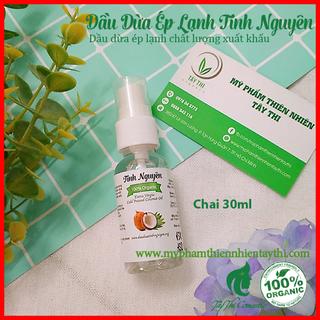 Dầu Dừa Ép Lạnh Tinh Nguyên Chai 30ml - 432423 thumbnail