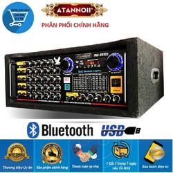 Amply Bluetooth ATANNOII PRO-9800 16 sò lớn, 2 quạt gió, 10 cần gạt - có video test
