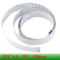 Cable FFC 1.0mm 25 pin dài 450mm AWM 20264