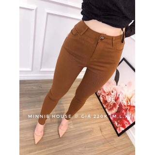 Quần kaki skinny BHshop - quần kaki thun nữ nhiều màu thumbnail