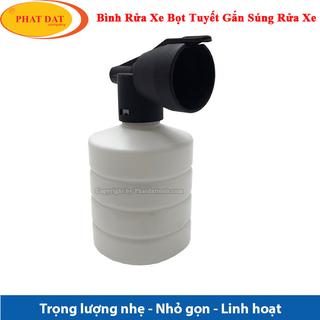Bình Tạo Bọt Tuyết Mini Gắn Súng Xịt Rửa Xe Cao Áp - BBTMN thumbnail