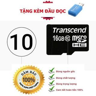 Thẻ nhớ 16GB Micro SDHC CLASS 10 - DÙNG CHO CAMERA , ĐIỆN THOẠI - Thẻ nhớ 16GB Micro thumbnail