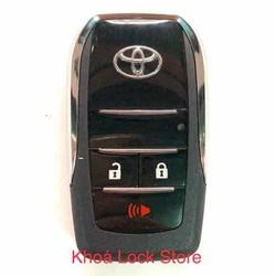 Chìa khoá độ gập theo chìa zin xe INNOVA FORTUNER 3 nút