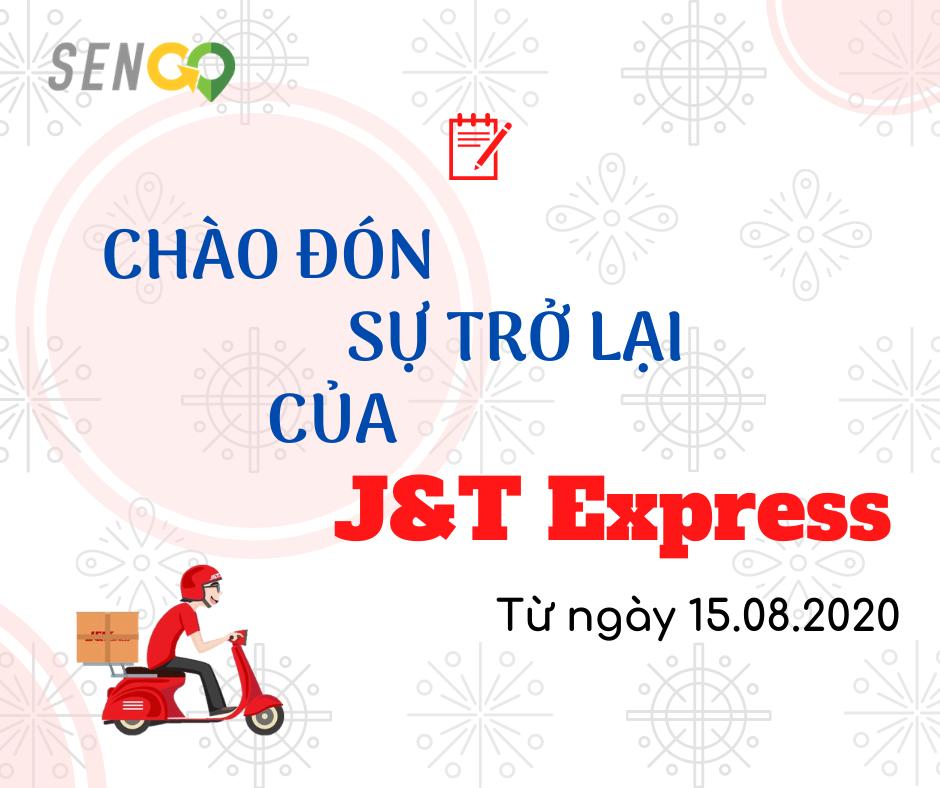 Dịch vụ giao nhận của đối tác J&T hoạt động trở lại