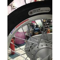 Vỏ lốp xe Quick Thái Lan size 17 inch 2.25/17 & 2.50/17 & 2.75/17 &60/90-17&70/90-17&80/90-17 vỏ có ruột - giá 1 cái