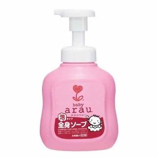 Sữa tắm gội Arau thảo mộc -- chai 450ml- túi 400ml-Nhật bản- date 2020-2021 - sữa tắm Arau thumbnail
