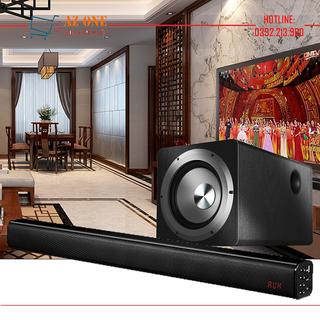 Bộ Loa Soundbar 5.1 Bluetooth Audio Hyundai H08 + Loa Subwoofer IBASS SU650D - H08 + Loa Sub SU650D thumbnail