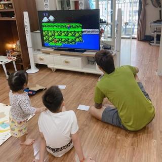 Hot bộ sản phẩm chơi game tích hợp 600 trò chơi dùng cho gia đình - sản phẩm chơi game giá rẻ thumbnail