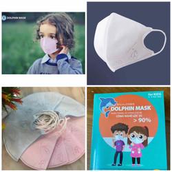Khẩu trang 3D DOLPHIN MASK cho bé từ 7 tháng đến 5 tuổi (Hộp 10 cái)