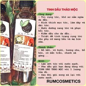 6chai Tinh dầu trị rụng tóc.sạch gàu hết nấm ngứa Tặng 4 chai - 124