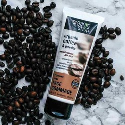 Tẩy da chết mặt  Organic coffee